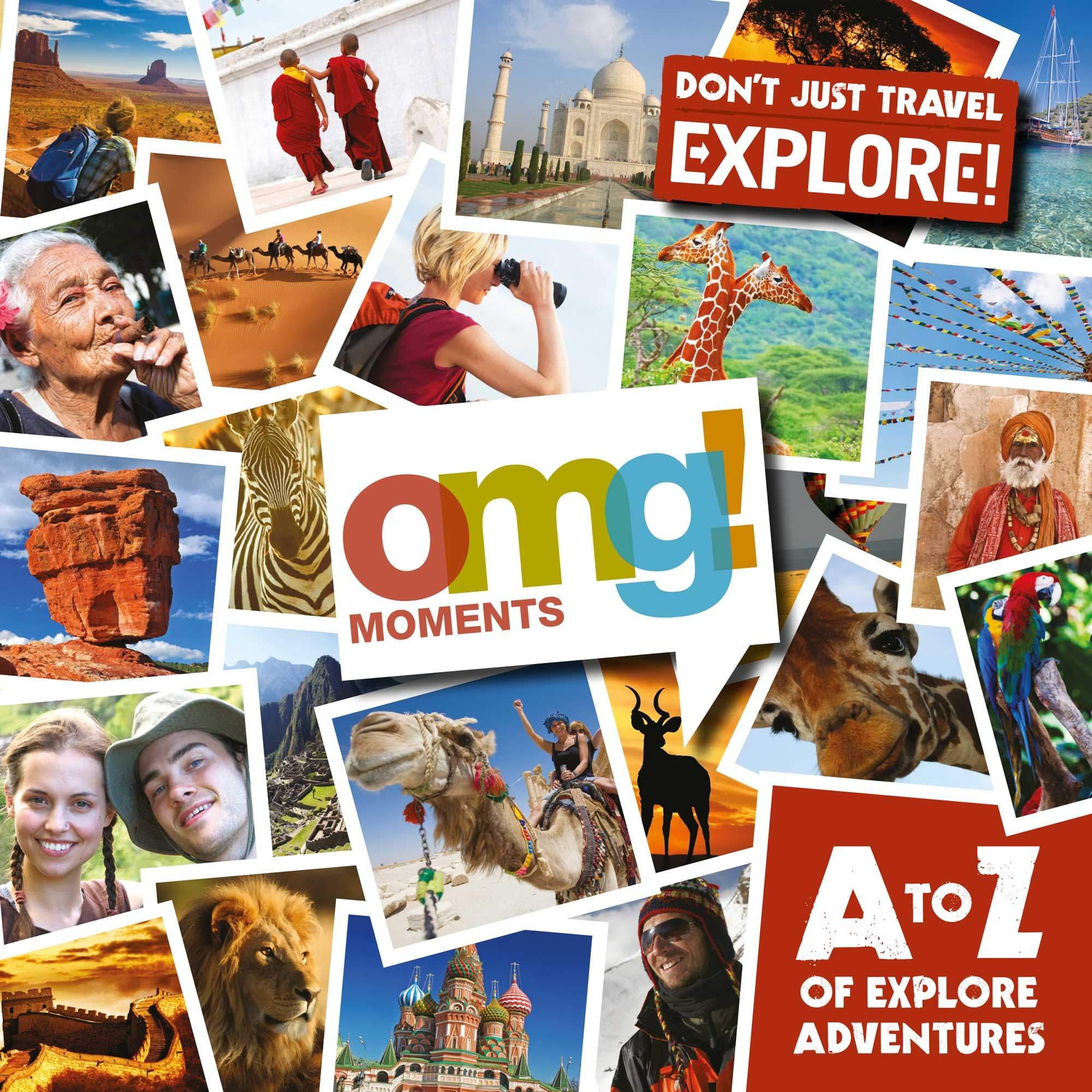 adventure travel brochure design front cover omg marketing campaign
