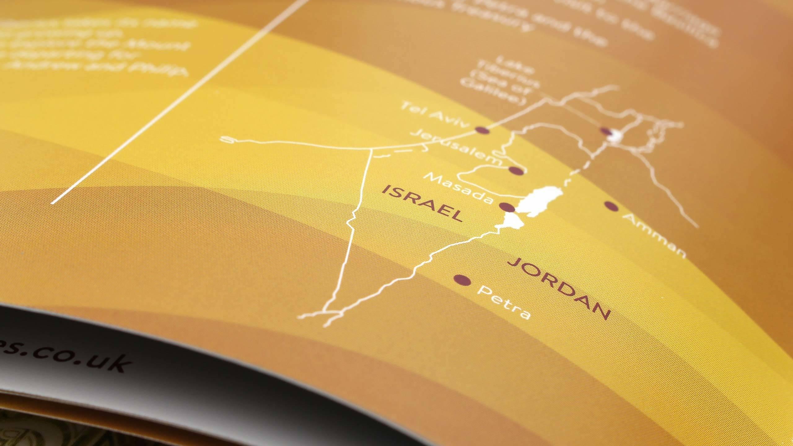 Tours for Churches map closeup