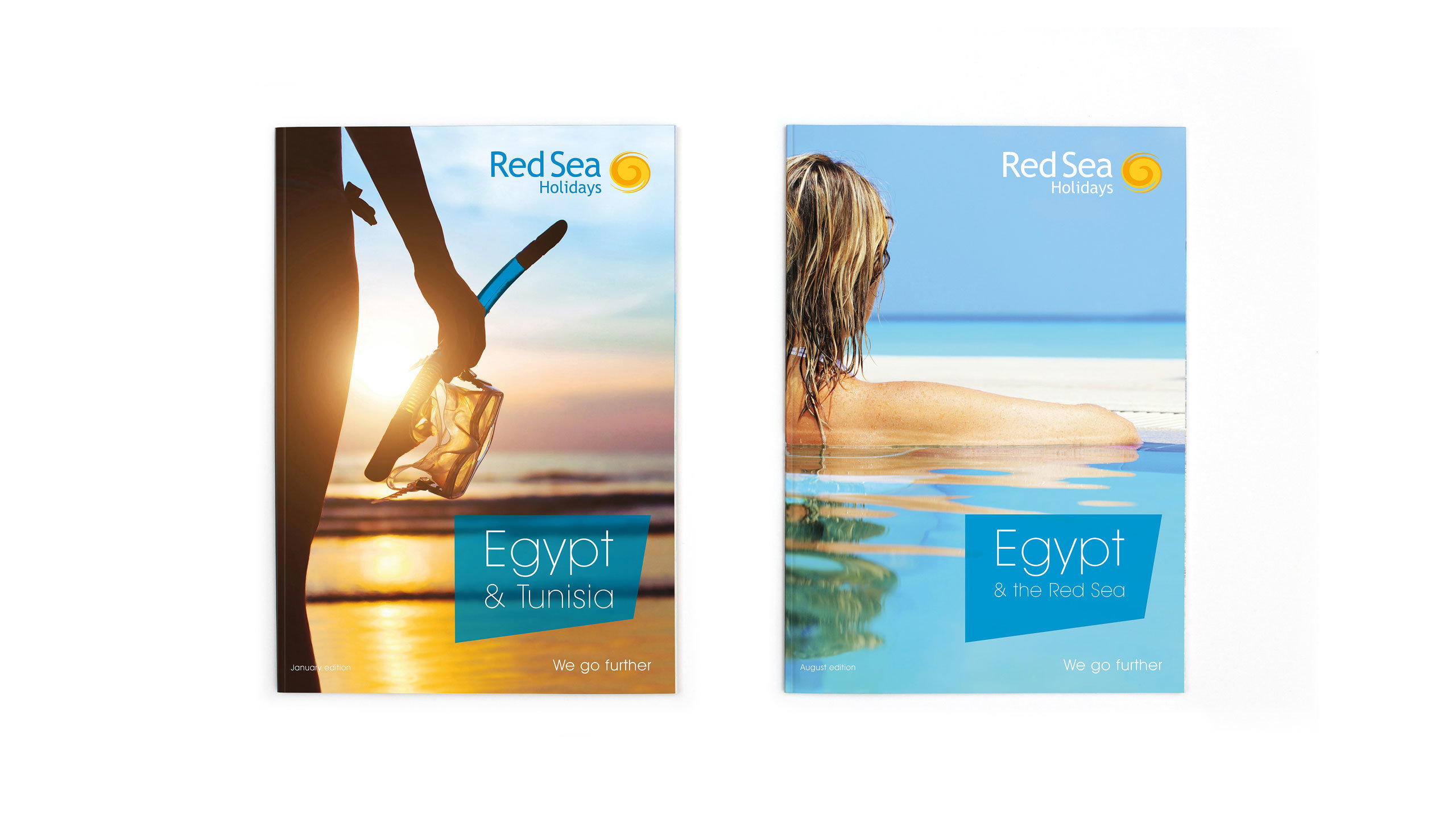 tour operator brochure design front covers red sea holidays