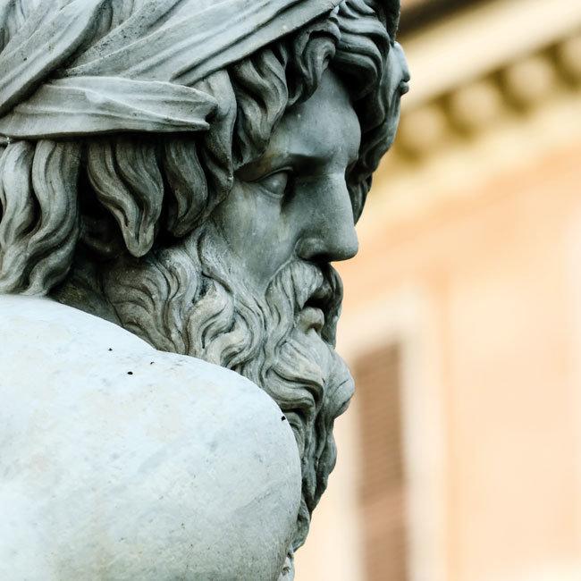 Statue of Zeus in Rome
