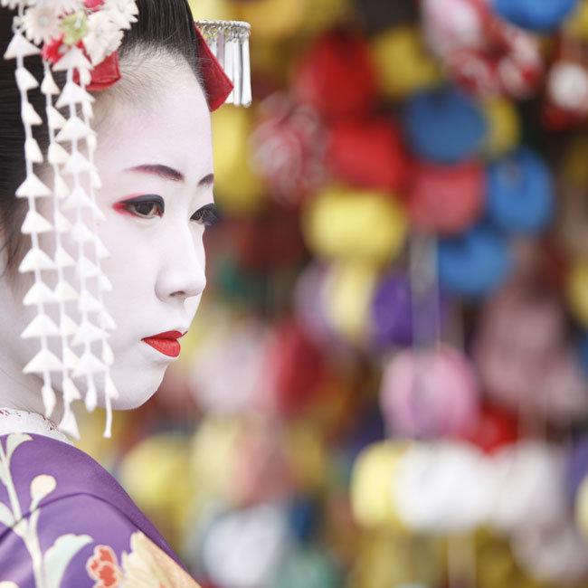 Geisha girl: Wendy Wu magazine