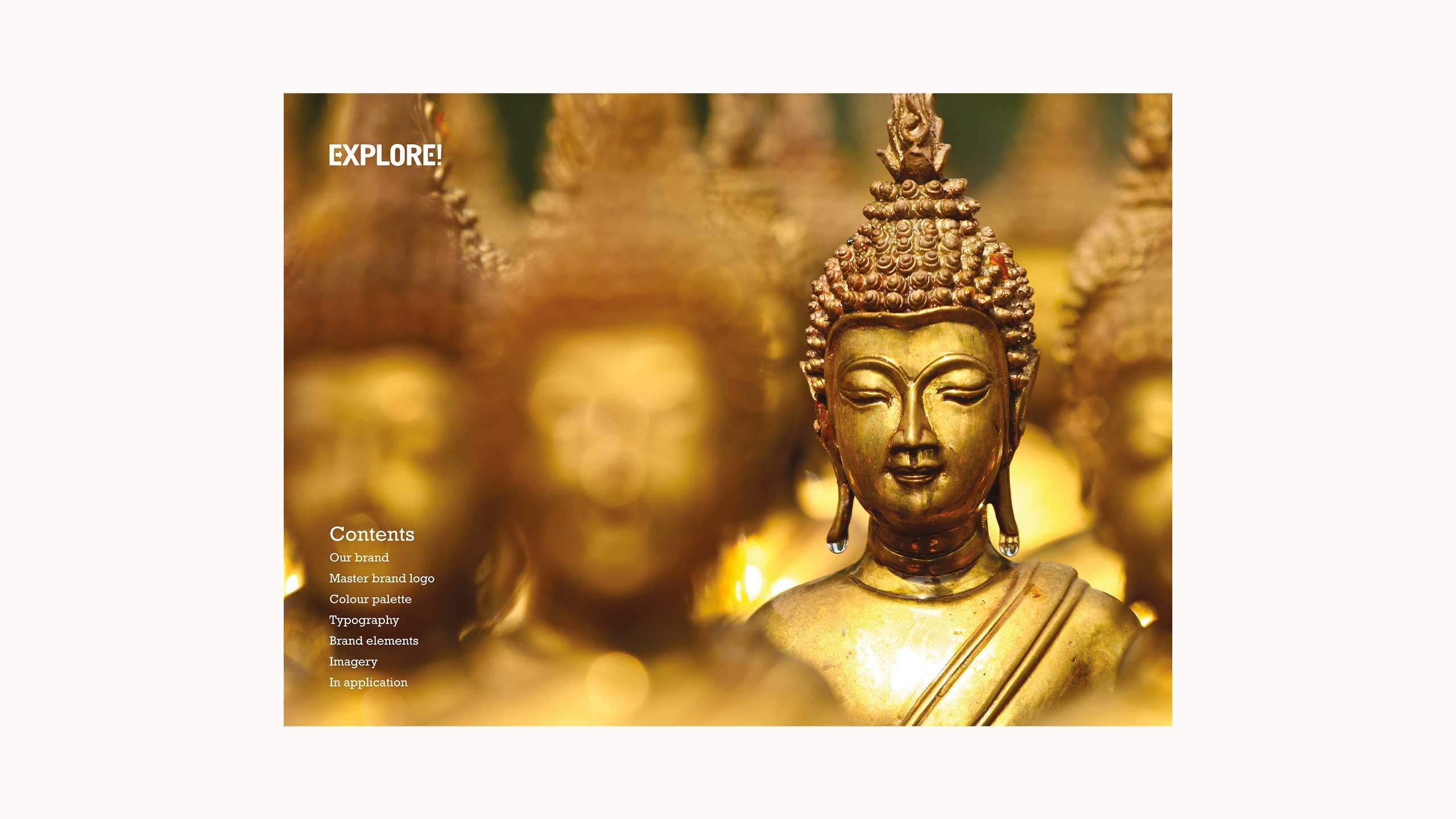 adventure travel branding brand guidelines contents explore worldwide
