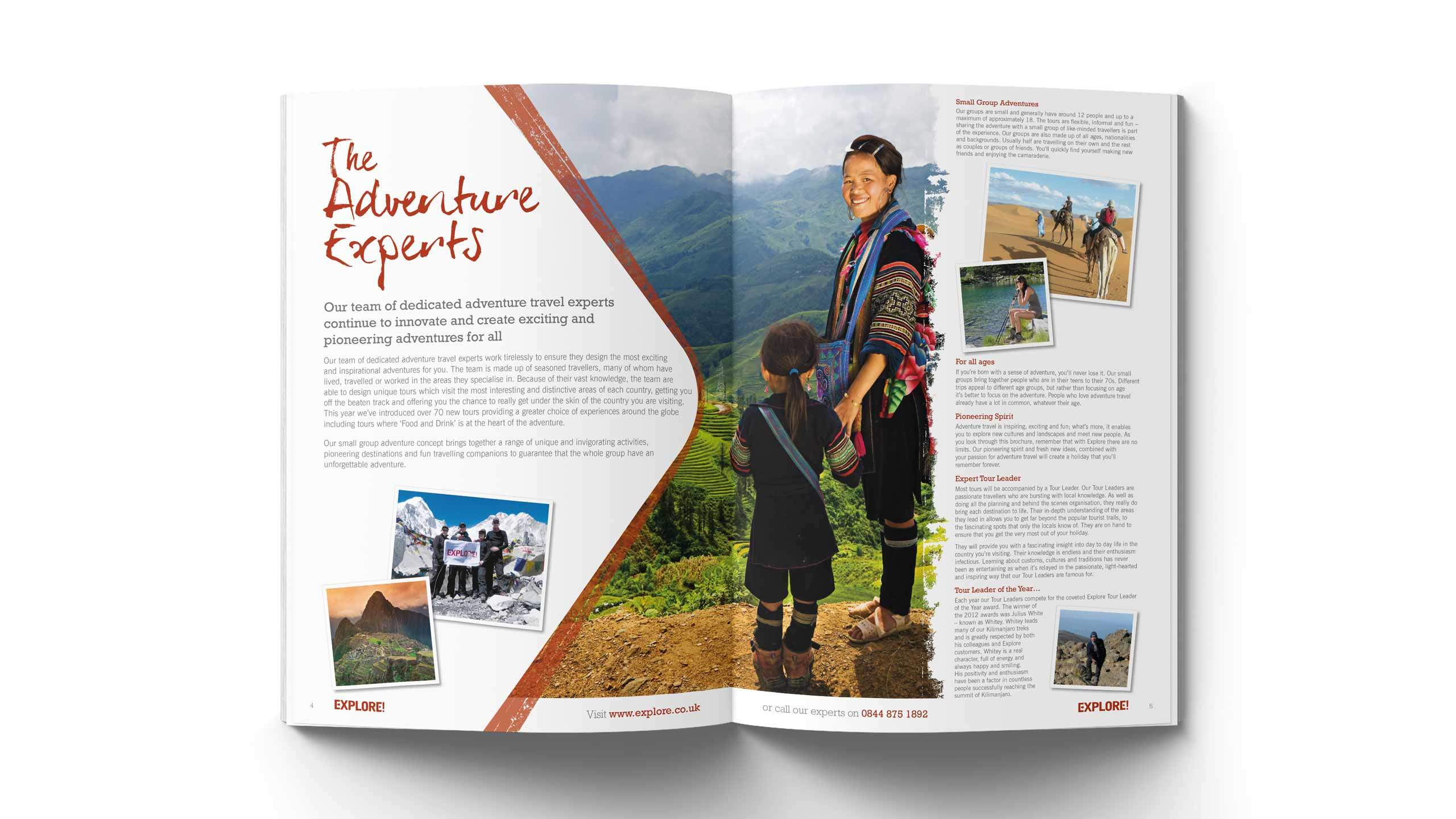 adventure travel brochure design adventure experts pages explore worldwide