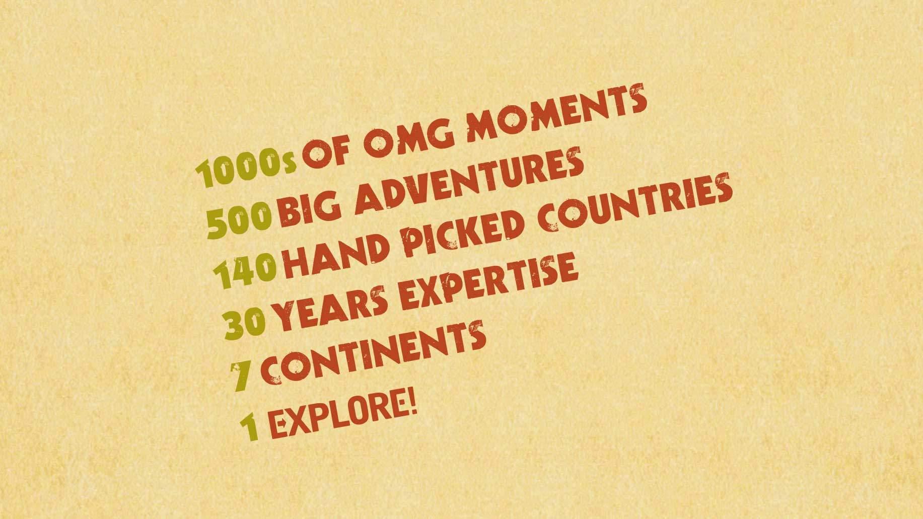 adventure travel brochure design back cover omg marketing campaign