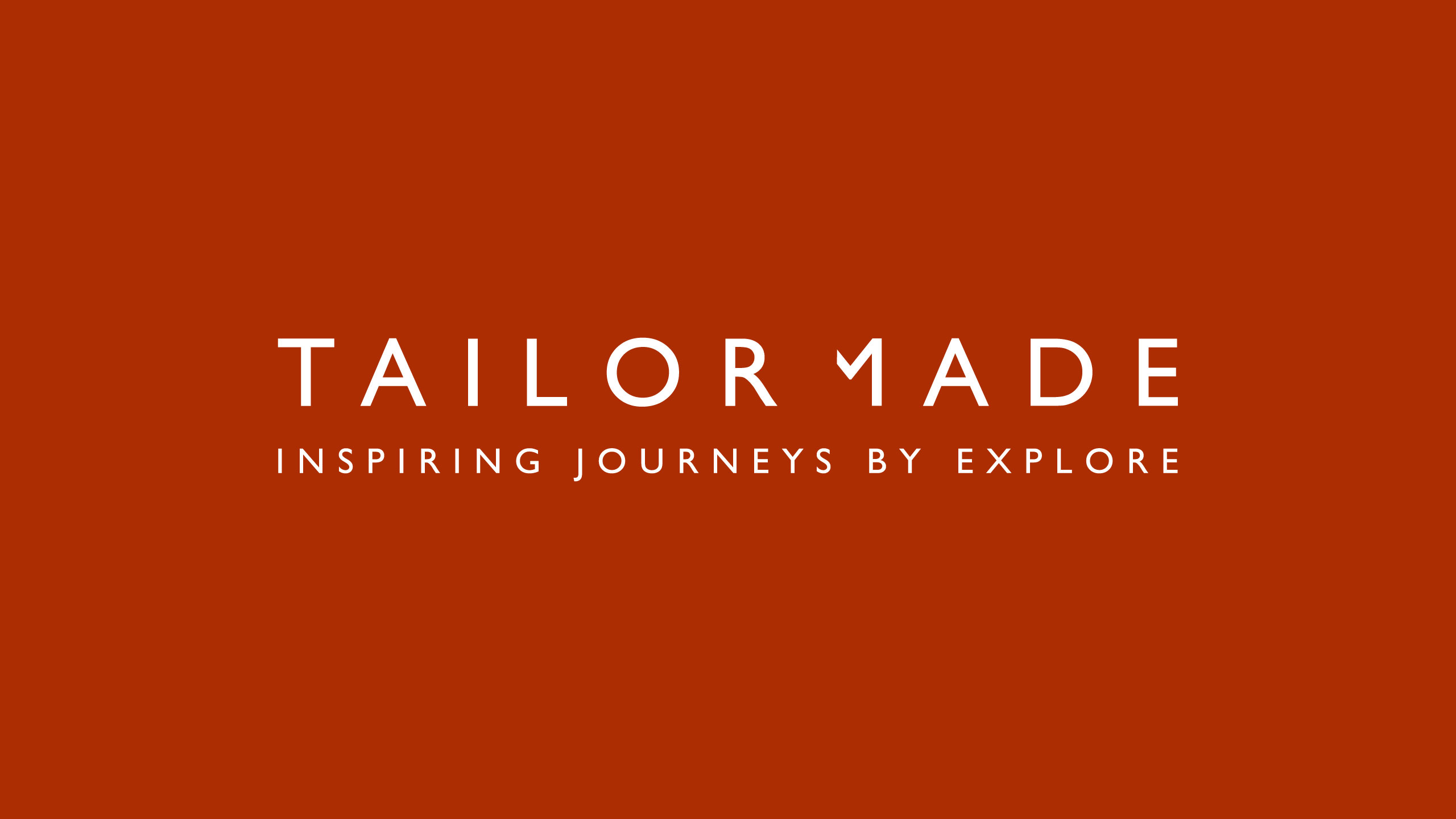 bespoke travel logo design explore tailor made