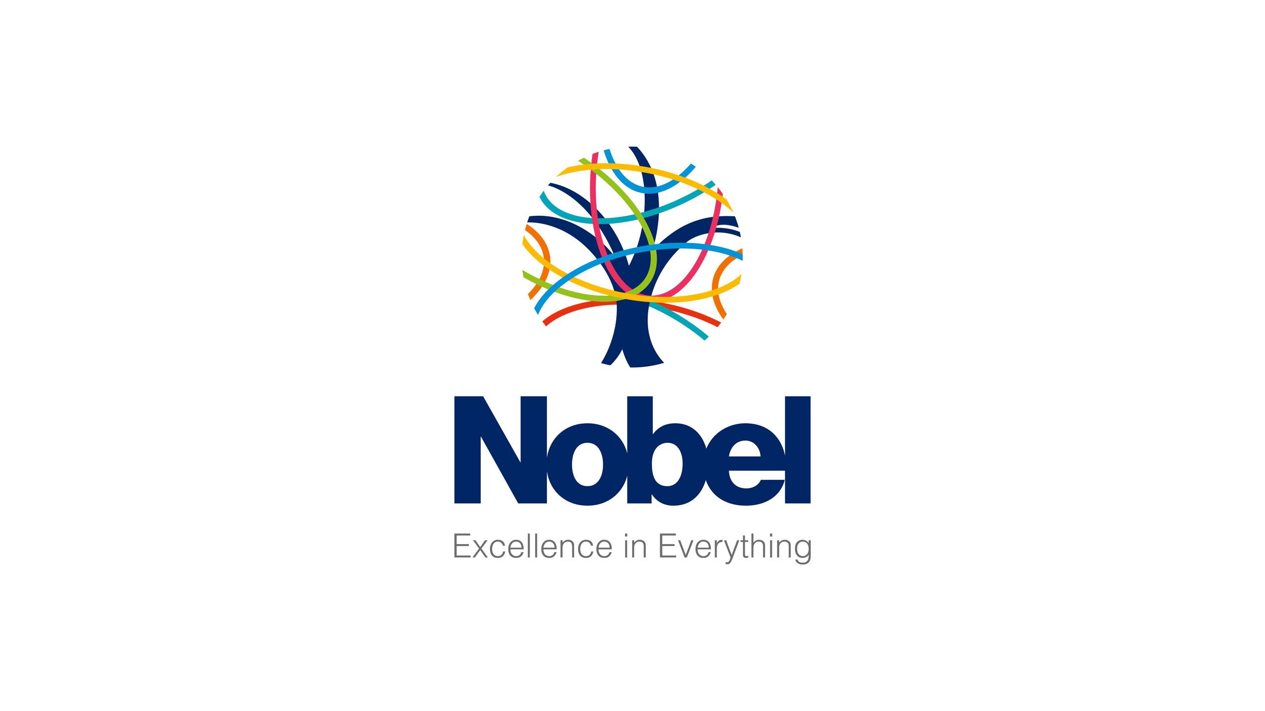 secondary school logo design primary logo with strap line the nobel school