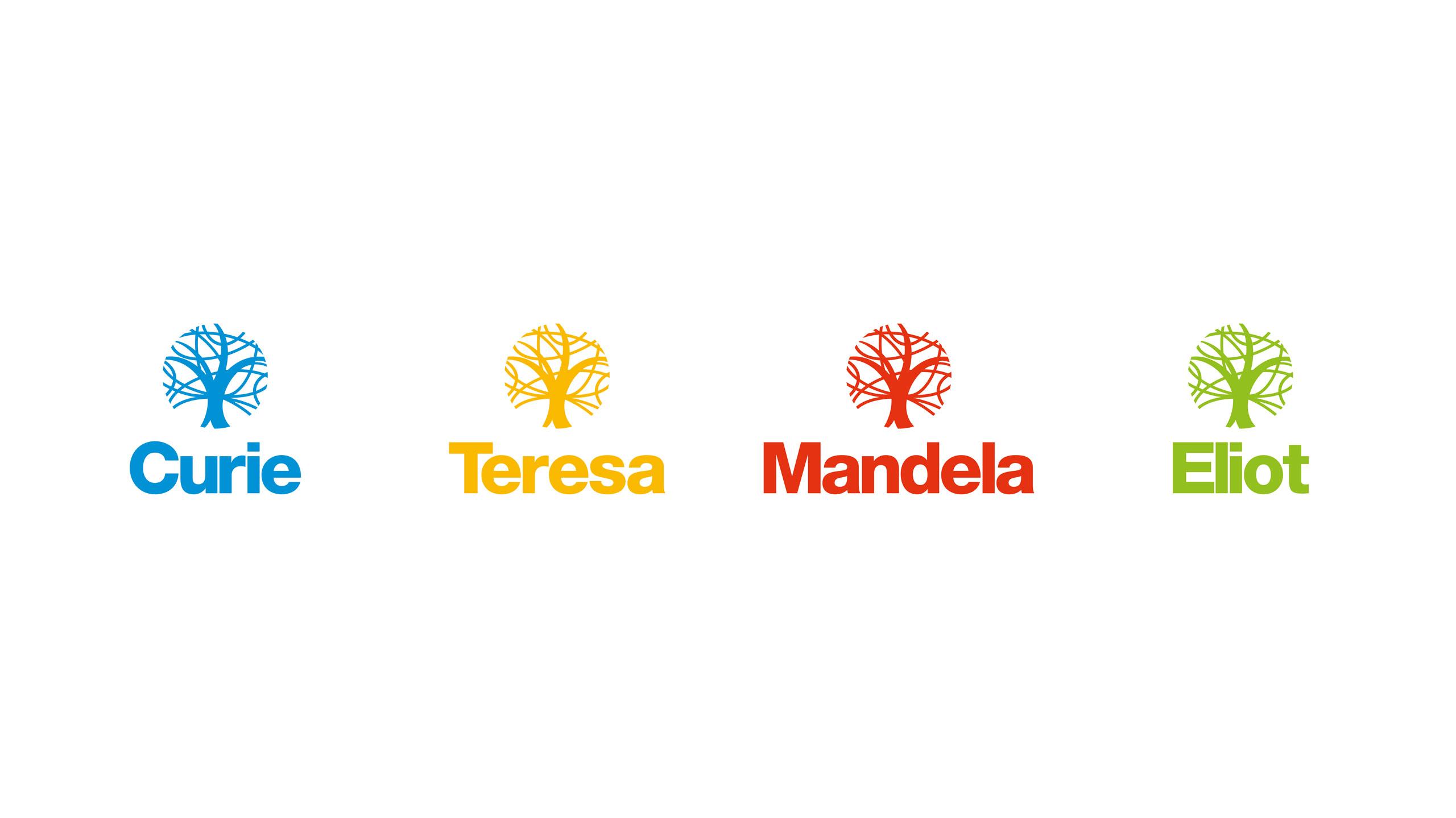 secondary school logo design school houses the nobel school